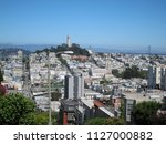 view of coit tower in san... | Shutterstock . vector #1127000882