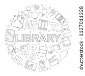 vector library and online... | Shutterstock .eps vector #1127011328