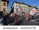 florence  italy   september 23  ... | Shutterstock . vector #1127014778