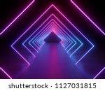 3d Render  Ultraviolet Neon...