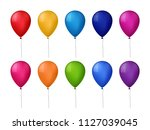 collection of colorful vector... | Shutterstock .eps vector #1127039045