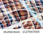 wooden panels seen through...   Shutterstock . vector #1127047055