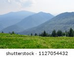 the meadows in the vratna... | Shutterstock . vector #1127054432