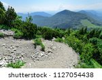the descent in vratna valley at ... | Shutterstock . vector #1127054438