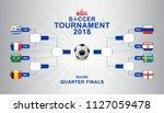 banner soccer world... | Shutterstock .eps vector #1127059478