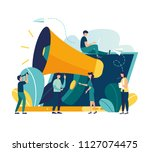 vector illustration  flat style ... | Shutterstock .eps vector #1127074475