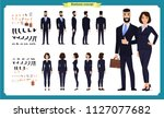 business man and woman... | Shutterstock .eps vector #1127077682