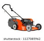 lawn mower vector illustration | Shutterstock .eps vector #1127085962