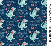 seamless pattern for kids... | Shutterstock .eps vector #1127096942