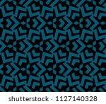 decorative seamless geometric... | Shutterstock .eps vector #1127140328