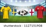football cup 2018 world... | Shutterstock .eps vector #1127151908