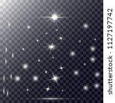 sparkles. hightlights. vector...   Shutterstock .eps vector #1127197742