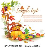 template on a theme on the... | Shutterstock .eps vector #112722058
