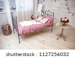 a beautiful inside place for... | Shutterstock . vector #1127256032