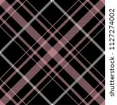 tartan pattern scottish... | Shutterstock .eps vector #1127274002
