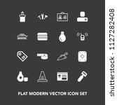 modern  simple vector icon set... | Shutterstock .eps vector #1127282408