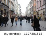 poland  krak w   december 22 ... | Shutterstock . vector #1127301518