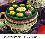 set of artificial thai... | Shutterstock . vector #1127330432
