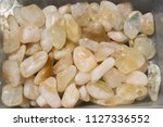 tumbled scitrine gem stone as ... | Shutterstock . vector #1127336552