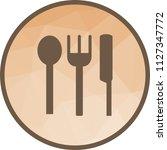 baby crockery icon | Shutterstock .eps vector #1127347772