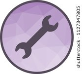 two header wrench | Shutterstock .eps vector #1127347805