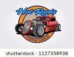 Hot Rods Custom Garage Vector...