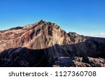 sunrise view at the top of... | Shutterstock . vector #1127360708