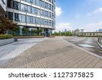 modern business office building ... | Shutterstock . vector #1127375825