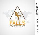 falls prevention day vector... | Shutterstock .eps vector #1127384225