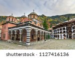 beautiful view of the orthodox... | Shutterstock . vector #1127416136