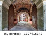 beautiful view of the entrance... | Shutterstock . vector #1127416142