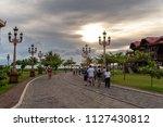 bataan  philippines   jun 30...   Shutterstock . vector #1127430812