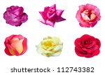 Set Of 6 Rose Flowers For Your...