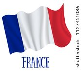14 july  france independence... | Shutterstock .eps vector #1127451086