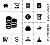 wealth icon. collection of 13... | Shutterstock .eps vector #1127465315