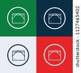 folder icon vector | Shutterstock .eps vector #1127465402