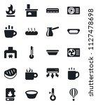 set of vector isolated black... | Shutterstock .eps vector #1127478698