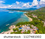 aerial view of beautiful... | Shutterstock . vector #1127481002