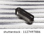 black minus icon on the stylish ... | Shutterstock . vector #1127497886