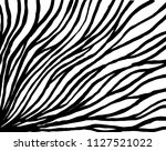 wavy lines pattern. abstract... | Shutterstock .eps vector #1127521022