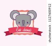cute animals design | Shutterstock .eps vector #1127600912
