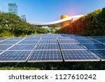 ecological energy renewable... | Shutterstock . vector #1127610242