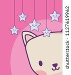 baby shower design | Shutterstock .eps vector #1127619962
