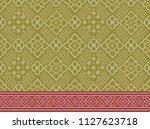 traditional seamless indian... | Shutterstock . vector #1127623718