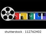media  electronic news  vector | Shutterstock .eps vector #112762402
