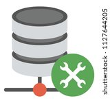database with tools  concept of ...   Shutterstock .eps vector #1127644205