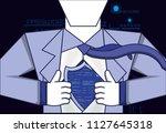 data security password access | Shutterstock .eps vector #1127645318