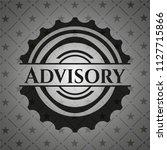 advisory black emblem. vintage. | Shutterstock .eps vector #1127715866
