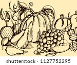 abstract vintage vector...   Shutterstock .eps vector #1127752295