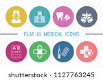 flat ui 8 color medical  ...